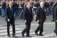 2013/03/23 Roma, funerali del Capo della Polizia. Nella foto Renato Schifani.<br /> Rome, Chief of Police funerals. In the picture Renato Schifani - &copy; PIERPAOLO SCAVUZZO