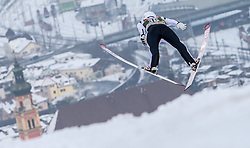 03.01.2015, Bergisel Schanze, Innsbruck, AUT, FIS Ski Sprung Weltcup, 63. Vierschanzentournee, Innsbruck, Training, im Bild Jakub Janda (CZE) // Jakub Janda of Czech Republic soars through the air during a trainings jump for the 63rd Four Hills Tournament of FIS Ski Jumping World Cup at the Bergisel Schanze in Innsbruck, Austria on 2015/01/03. EXPA Pictures © 2015, PhotoCredit: EXPA/ JFK