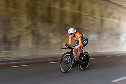 Chantal Blaak at Boels Rental Ladies Tour Stage 3 a 16.9 km individual time trial in Roosendaal, Netherlands on August 31, 2017. (Photo by Sean Robinson/Velofocus)