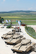 Israel, Latron, IDF Armoured Corps Museum Merkava Tanks