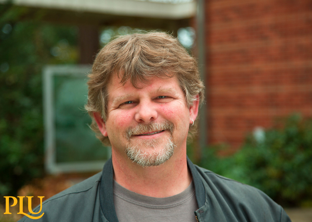Spencer Ebbinga of PLU on Monday, Nov. 24, 2014. (PLU Photo/John Froschauer)