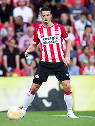 Nick Viergever of PSV during the Pre-season Friendly match between PSV Eindhoven and Valencia CF at the Phillips stadium on July 28, 2018 in Eindhoven, The Netherlands