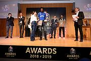 Brown John<br /> LBA AWORDS 2018/19<br /> Basket Serie A LBA 2018/2019<br /> Premiazioni Sala Buzzati - Rcs<br /> Milano 13 May 2019<br /> Foto Mattia Ozbot / Ciamillo-Castoria