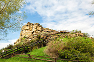 Pompeys Pillar National Monument, Montana, Lewis and Clark, tourists