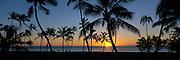 Sunset, Ko'olina Resort, Oahu, Hawaii, USA<br />