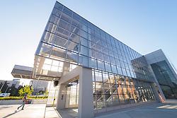 United States, Washington, Seattle, Light rail station at University of Washington