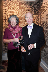 VISCOUNTESS WIMBORNE and at the opening of Luke Irwin's showroom at 22 Pimlico Road, London SW1 on 24th November 2010.