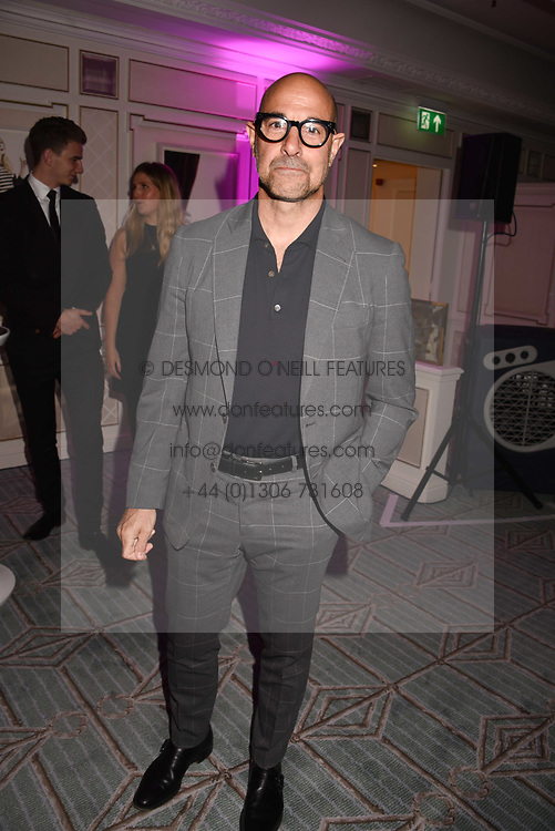 Stanley Tucci at the 2017 Fortnum &amp; Mason Food &amp; Drink Awards held at Fortnum &amp; Mason, Piccadilly London England. 11 May 2017.<br /> Photo by Dominic O'Neill/SilverHub 0203 174 1069 sales@silverhubmedia.com