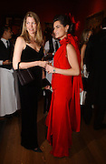 COUNTESS RICCARDO PAVONCELLI  and Annabel Murphy, Belle Epoche gala fundraising dinner. National Gallery. 16 March 2006. ONE TIME USE ONLY - DO NOT ARCHIVE  © Copyright Photograph by Dafydd Jones 66 Stockwell Park Rd. London SW9 0DA Tel 020 7733 0108 www.dafjones.com