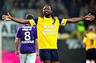 Onderwerp/Subject: Eredivisie<br /> Reklame:  <br /> Club/Team/Country: RKC Waalwijk<br /> Seizoen/Season: 2011/2012<br /> FOTO/PHOTO: Evander SNO of RKC Waalwijk celebrating his goal ( 1 - 4 ). (Photo by PICS UNITED)<br /> <br /> Trefwoorden/Keywords: <br /> #02 #09 $94 ±1324456815774<br /> Photo- & Copyrights © PICS UNITED <br /> P.O. Box 7164 - 5605 BE  EINDHOVEN (THE NETHERLANDS) <br /> Phone +31 (0)40 296 28 00 <br /> Fax +31 (0) 40 248 47 43 <br /> http://www.pics-united.com <br /> e-mail : sales@pics-united.com (If you would like to raise any issues regarding any aspects of products / service of PICS UNITED) or <br /> e-mail : sales@pics-united.com   <br /> <br /> ATTENTIE: <br /> Publicatie ook bij aanbieding door derden is slechts toegestaan na verkregen toestemming van Pics United. <br /> VOLLEDIGE NAAMSVERMELDING IS VERPLICHT! (© PICS UNITED/Naam Fotograaf, zie veld 4 van de bestandsinfo 'credits') <br /> ATTENTION:  <br /> © Pics United. Reproduction/publication of this photo by any parties is only permitted after authorisation is sought and obtained from  PICS UNITED- THE NETHERLANDS