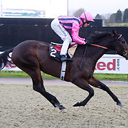 Just One Kiss and Jim Crowley winning the 2.00 race