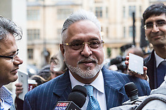 2017-12-04 Indian business tycoon Vijay Mallya arives at Court for extradition hearing