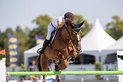 Van Den Broek Monique, NED, Fil a Fil<br /> Nederlands Kampioenschap Springen<br /> De Peelbergen - Kronenberg 2020<br /> © Hippo Foto - Dirk Caremans<br />  06/08/2020