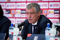 October 11, 2018 - Chorzow, Slask, Poland - Coach Fernando Santos during the UEFA Nations League A soccer match between Poland and Portugal at Silesian Stadium in Chorzow, Poland on 11 October 2018  (Credit Image: © Mateusz Wlodarczyk/NurPhoto via ZUMA Press)