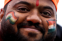India fans during the Cricket World Cup 2019 - Mandatory by-line: Robbie Stephenson/JMP - 16/06/2019 - CRICKET- Old Trafford - Manchester, England - India v Pakistan - ICC Cricket World Cup 2019 group stage