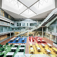 University of Lapland F-block interior