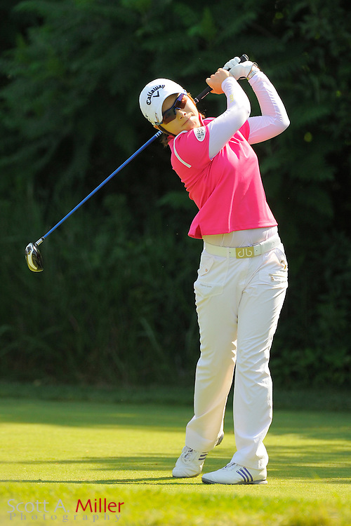 Eun-Hee Ji during the first round for the US Women's Open at Blackwolf Run on July 5, 2012 in Kohler, Wisconsin. ..©2012 Scott A. Miller