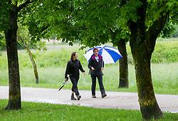Pohod ob tradicionalnem dogodku Pot ob zici, on May 11, 2013, in Ljubljana, Slovenia. (Photo By Vid Ponikvar / Sportida.com)