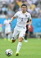 Fotball<br /> Tyskland v USA<br /> 26.06.2014<br /> VM 2014<br /> Foto: Witters/Digitalsport<br /> NORWAY ONLY<br /> <br /> Matt Besler (USA)<br /> Fussball, FIFA WM 2014 in Brasilien, Vorrunde, USA - Deutschland