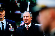 New York city Mayor Michael Bloomberg attends Veterans Day Parade  on November 11, 2010 in New York city. .Photo by: Joe Kohen for The Wall Street Journal..NYCOVERAGE.
