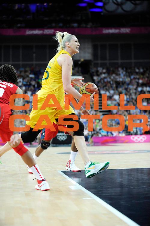 DESCRIZIONE : Basketball Jeux Olympiques Londres Demi finale<br /> GIOCATORE : Jackson Lauren AUS<br /> SQUADRA : AUSTRALIE Femme<br /> EVENTO : Jeux Olympiques<br /> GARA : USA AUSTRALIE<br /> DATA : 09 08 2012<br /> CATEGORIA : Basketball Jeux Olympiques<br /> SPORT : Basketball<br /> AUTORE : JF Molliere <br /> Galleria : France JEUX OLYMPIQUES 2012 Action<br /> Fotonotizia : Jeux Olympiques Londres demi Finale Greenwich Arena<br /> Predefinita :