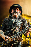 Lemmy Kilmister/Motorhead performing at the Rock A Field Festival in Luxembourg, Europe on June 23, 2012