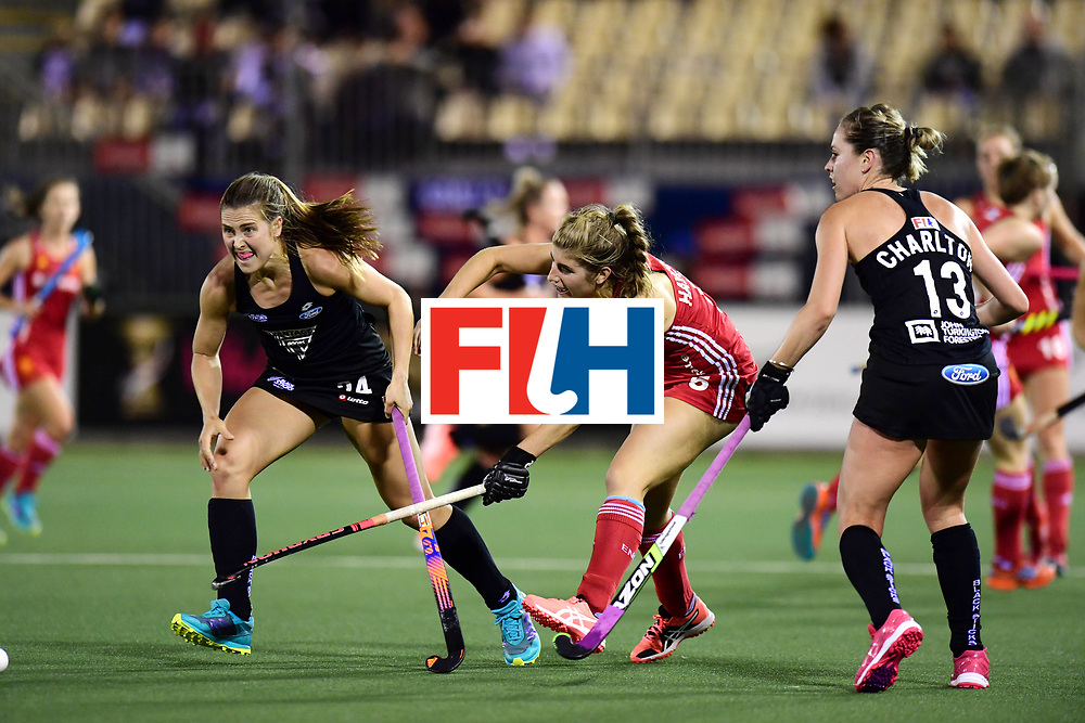 AUCKLAND - Sentinel Hockey World League final women<br /> Match id: 10310<br /> 20 ENG v NZL (Semi Final) 0-1<br /> New Zealand play the final<br /> Foto: Sarah Haycroft <br /> WORLDSPORTPICS COPYRIGHT FRANK UIJLENBROEK