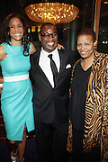 14 April 2010- New York, NY- l to r: Veronica Webb, Andre Harrell and Terry Williams at the Executive Director's Reception hosted by Veronica Webb and Andre Harrell and held at The Central Park East Ballroom, Sheraton New York Hotel on April 14, 2010 in New York City.