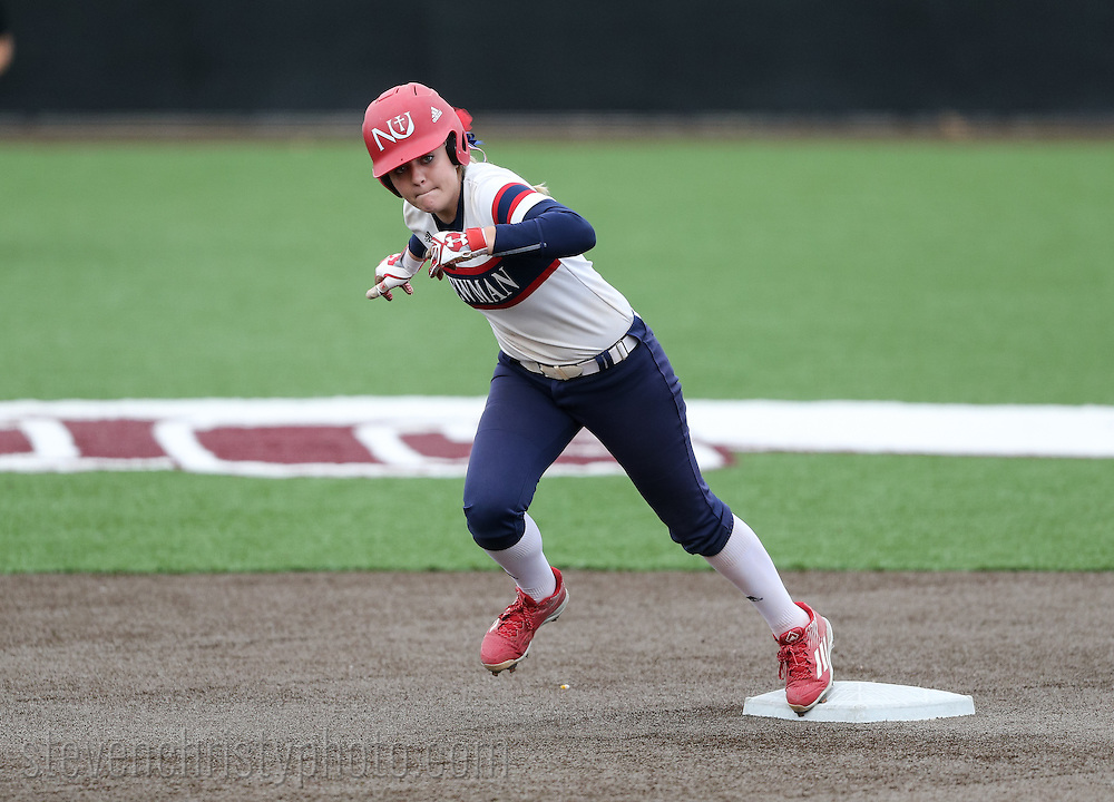 March 11, 2016: The Newman University Jets play against the Oklahoma Christian University Lady Eagles at Tom Heath Field at Lawson Plaza on the campus of Oklahoma Christian University.