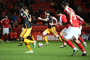 Bradford City midfielder Romain Vincelot (6)  dribbling through midfield during the EFL Sky Bet League 1 match between Charlton Athletic and Bradford City at The Valley, London, England on 14 March 2017. Photo by Matthew Redman.