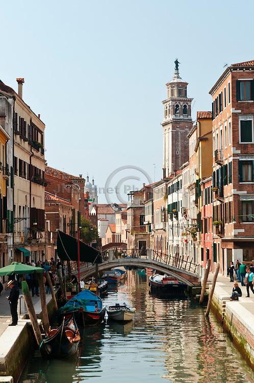 Venice, the city of bridges (Italy)