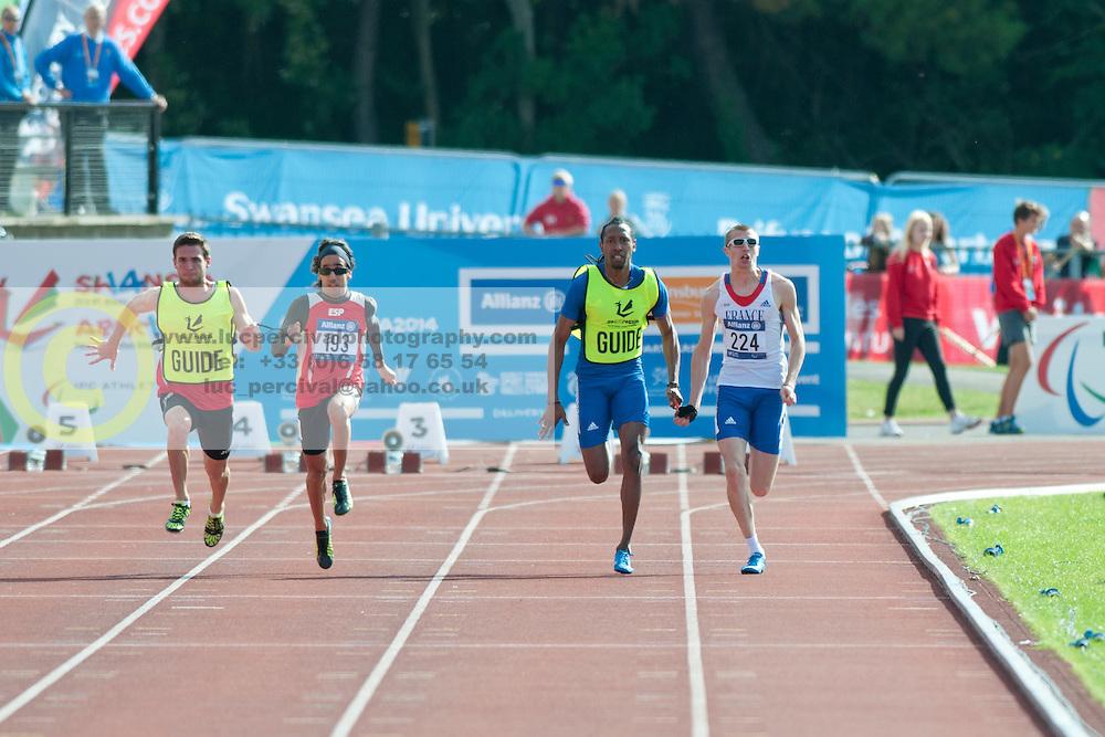 PAREJO MAZA Martin, ADOLPHE Timothee, 2014 IPC European Athletics Championships, Swansea, Wales, United Kingdom