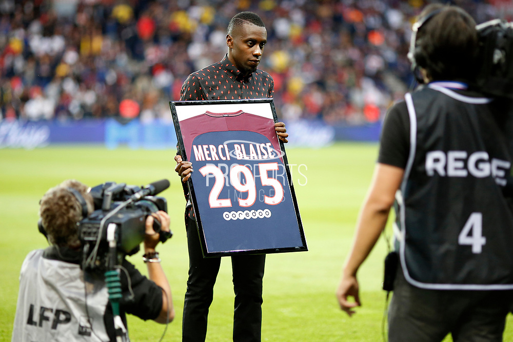 Blaise Matuidi reacts during the French championship L1 football match between Paris Saint-Germain (PSG) and Toulouse, on August 20, 2017, at the Parc des Princes, in Paris, France - Photo Benjamin Cremel / ProSportsImages / DPPI