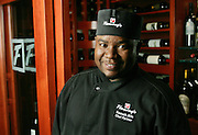 Portrait of Kenneth Bills, chef at Fleming's restaurant in Dunwoody.