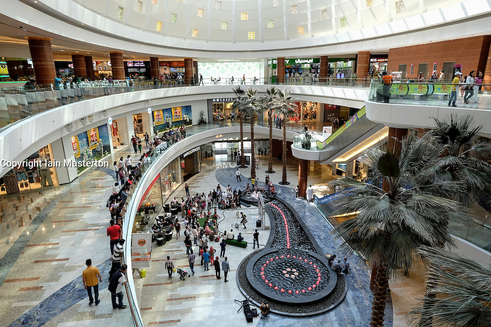 Al Ghurair shopping mall in Dubai United Arab Emirates