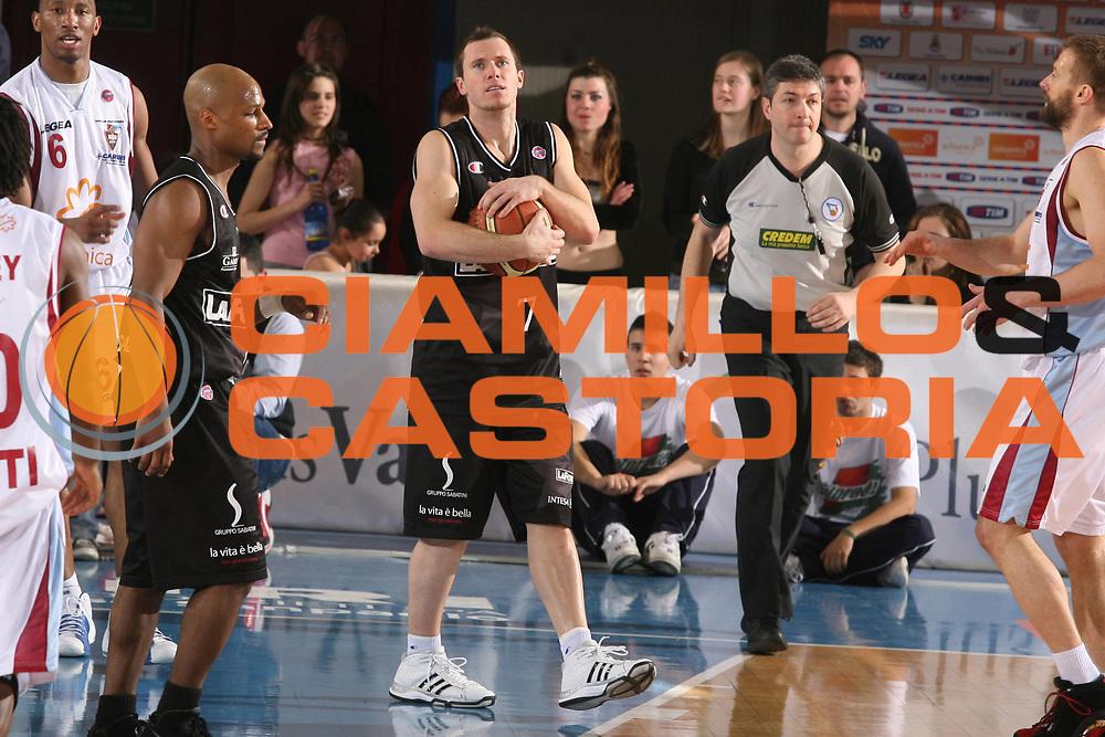 DESCRIZIONE : Rieti Lega A1 2007-08 Solsonica Rieti VidiVici Virtus Bologna <br /> GIOCATORE : Brett Blizzard <br /> SQUADRA : VidiVici Virtus Bologna <br /> EVENTO : Campionato Lega A1 2007-2008 <br /> GARA : Solsonica Rieti VidiVici Virtus Bologna <br /> DATA : 29/03/2008 <br /> CATEGORIA : Delusione <br /> SPORT : Pallacanestro <br /> AUTORE : Agenzia Ciamillo-Castoria/G.Ciamillo