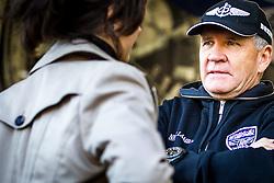 26.10.2014, Red Bull Ring, Spielberg, AUT, Red Bull Air Race, Renntag, im Bild Nigel Lamp, (GBR) im Interview // during the Red Bull Air Race Championships 2014 at the Red Bull Ring in Spielberg, Austria, 2014/10/26, EXPA Pictures © 2014, PhotoCredit: EXPA/ M.Kuhnke