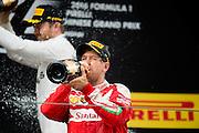 April 15-17, 2016: Chinese Grand Prix, Shanghai, Sebastian Vettel (GER), Ferrari