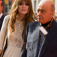 LONDON, ENGLAND - JUNE 27:Mischa Barton and Mohammed Al Fayed attend a photocall to open Harrods summer sale at Harrods on June 27, 2009 in London, England....***Standard Licence  Fee's Apply To All Image Use***.Marco Secchi /Xianpix. tel +44 (0) 845 050 6211. e-mail ms@msecchi.com or sales@xianpix.com.www.marcosecchi.com