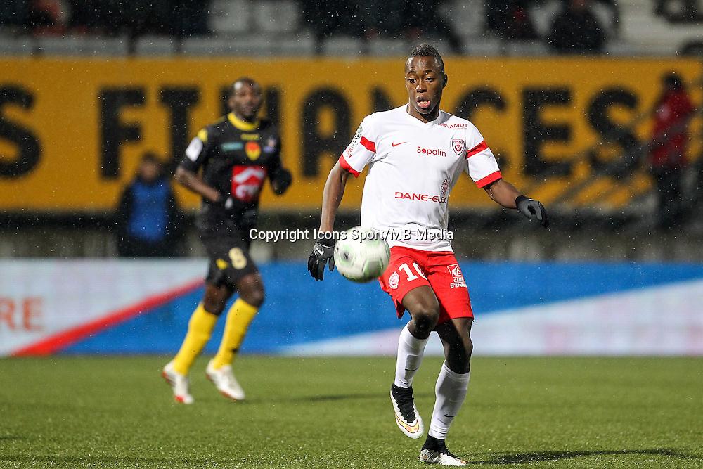 Arnaud LUSAMBA - 19.01.2015 - Nancy / Orleans - 20e journee Ligue 2<br /> Photo : Fred Marvaux / Icon Sport