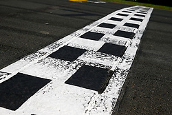 March 17, 2019 - Melbourne, Australia - Motorsports: FIA Formula One World Championship 2019, Grand Prix of Australia, ..Finish line, Finishline, Ziellinie  (Credit Image: © Hoch Zwei via ZUMA Wire)