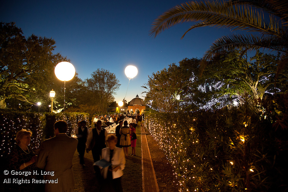 "New Orleans Botanical Garden's ""Magic in the Moonlight"" fundraiser"