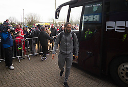 Bristol City players arrive before the match - Mandatory by-line: Jack Phillips/JMP - 11/01/2020 - FOOTBALL - DW Stadium - Wigan, England - Wigan Athletic v Bristol City - English Football League Championship