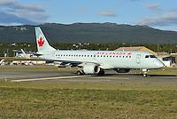 C-FNAO backtracks for take-off on Runway 14R.