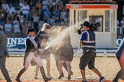 Gold medal, Freestyle, Werth Isabel, GER<br /> European Championship Dressage<br /> Rotterdam 2019<br /> © Hippo Foto - Dirk Caremans