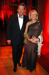 MR & MRS JOHANN RUPERT he is Chief Executive of Richemont at a dinner held at the Natural History Museum to celebrate the re-opening of their store at 175-177 New Bond Street, London on 17th October 2007.<br /><br />NON EXCLUSIVE - WORLD RIGHTS