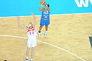 DESCRIZIONE : Riga Latvia Lettonia Eurobasket Women 2009 Qualifying Round Russia Italia Russia Italy<br /> GIOCATORE : Manuela Zanon<br /> SQUADRA : Italia Italy<br /> EVENTO : Eurobasket Women 2009 Campionati Europei Donne 2009 <br /> GARA : Russia Italia Russia Italy<br /> DATA : 14/06/2009 <br /> CATEGORIA : tiro<br /> SPORT : Pallacanestro <br /> AUTORE : Agenzia Ciamillo-Castoria/M.Marchi
