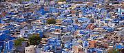 The Brahman Blue City, Brahmpuri area of Jodhpur in Rajasthan, Northern India