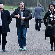 NLD/Amsterdam/20111221 - Uitvaart Olga Madsen, Felix Rottenberg, Dick Maas en partner Esmee Lammers