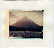 Conception volcano on the island of Ometepe, Nicaragua<br />